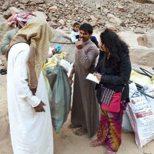 weighing the garbage dalel foundation