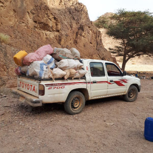 garbage on its way - clean up dalel foundation