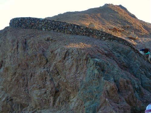 overview muur zee pas shahien